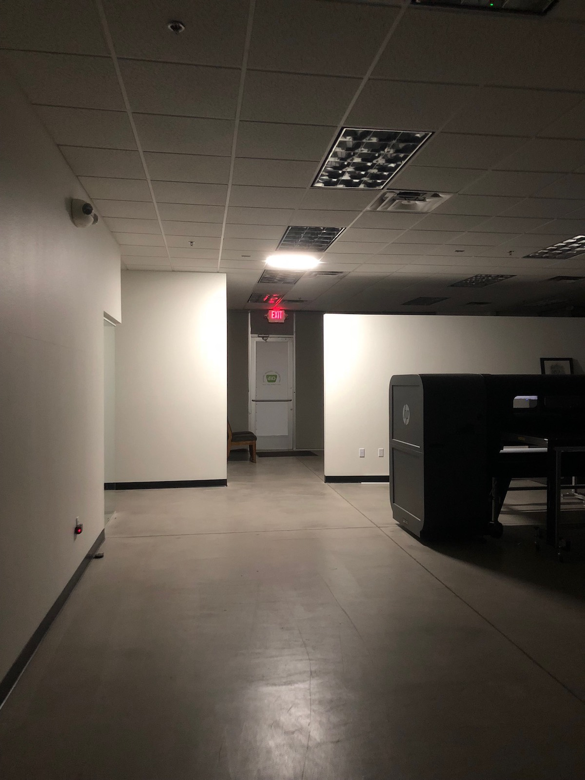 LED grid - modern decoration and safe lighting